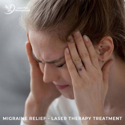 migraine relief with laser therapy treatment